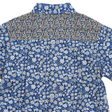 Boy Blue Foral Short Sleeves Shirt