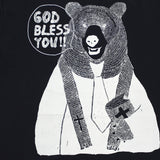 Dad Size - Navy Blue Graphic Tee - Rev. Bear -