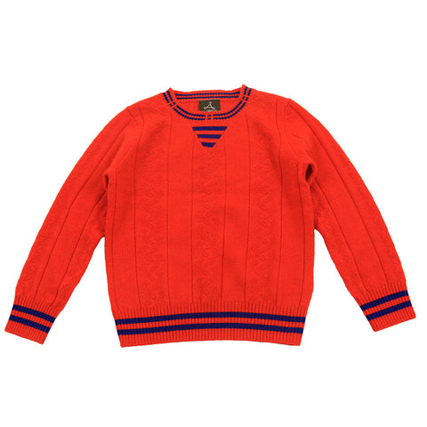 Orange Pure Cashmere Sweater