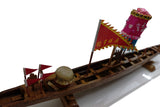 Teak Dragon Boat