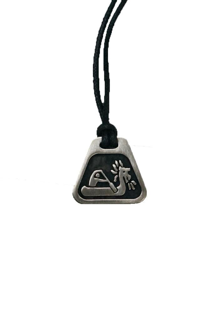 Pewter necklace -Dragonboater / Outrigger