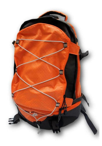 Orange Piggyback Pack