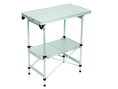 Bo-Camp Table compact 72x40x78cm - Grey