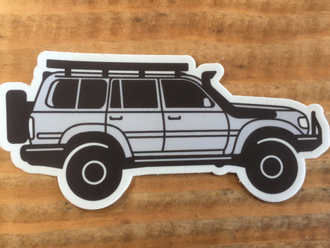 Landcruiser 80 Series Sticker