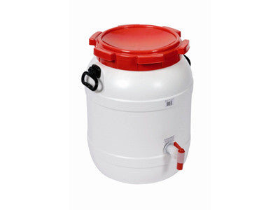 Barrel with handles and tap 54ltr