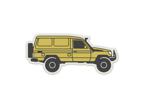 The Overlander Landcruiser Troopy Sticker
