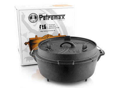 Petromax Dutch Oven (With Legs or Flat Base)