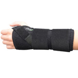 "Wrist Brace 7"" with Cushioned Palm 1 LEFT/1 RIGHT by 4DflexiSPORT® - 4DflexiSPORT"