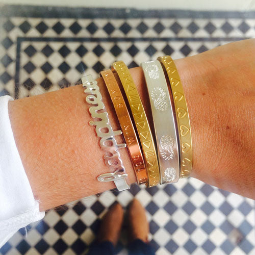 Mixed Metal Bracelets