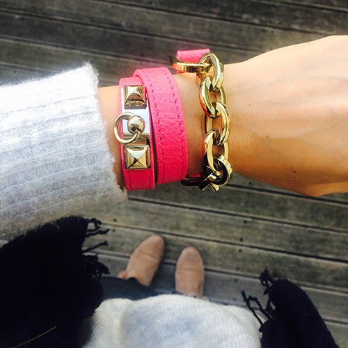 Miss Lesley Leather Bracelets at LVBT