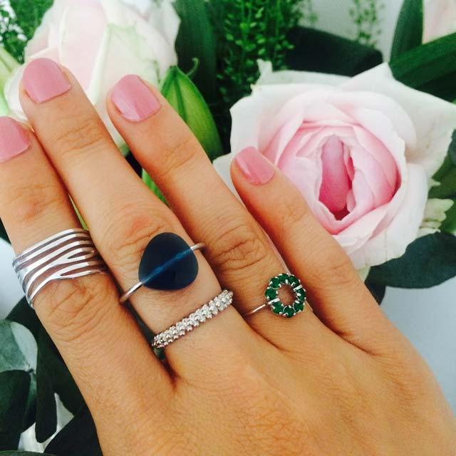 Miss Lesley Stacked Rings