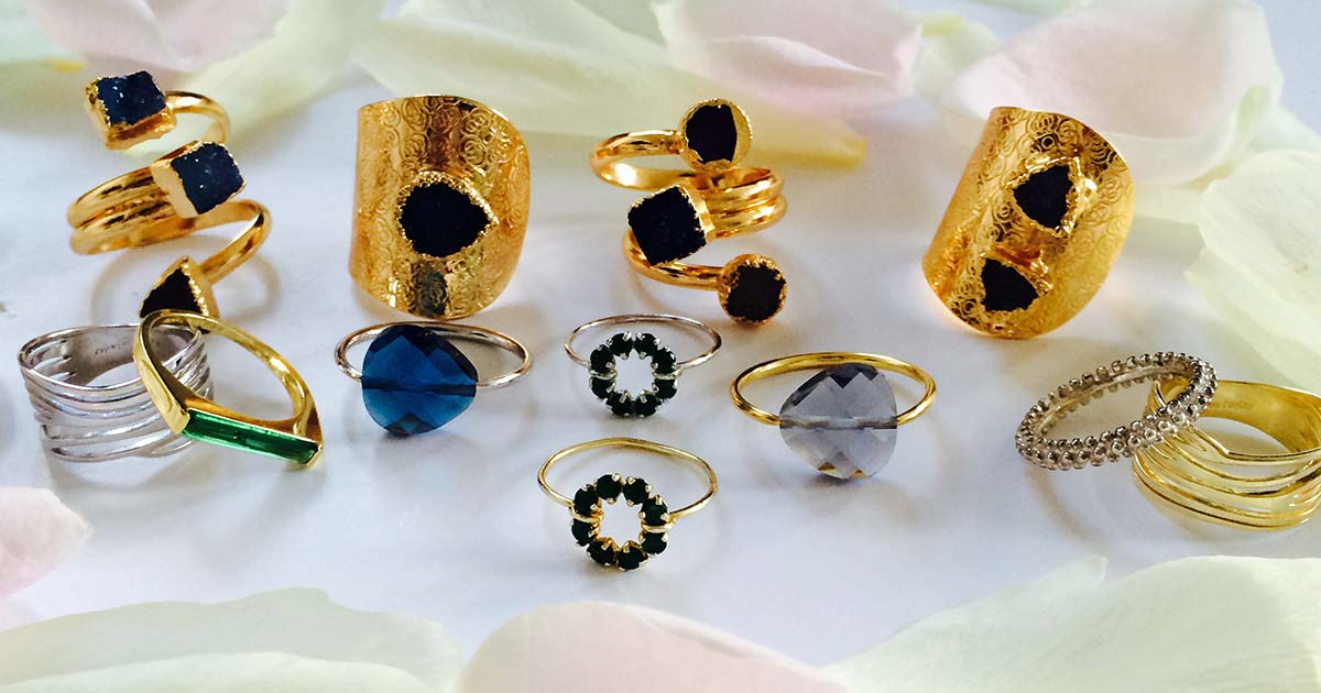 A unique collection of stacked rings at LVBT