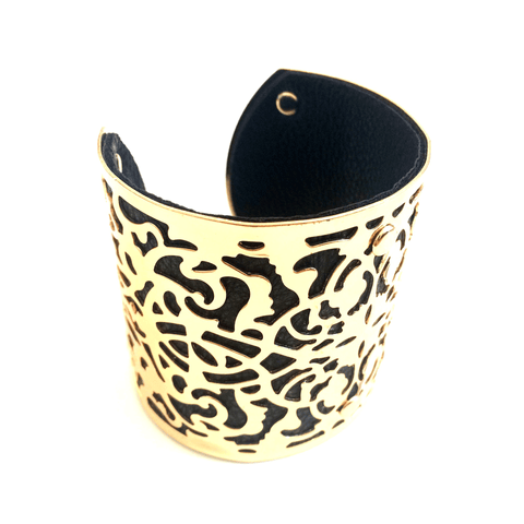 Jocelyn Black Bangle at LVBT
