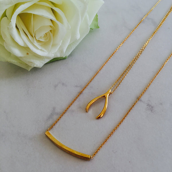 Lexie Gold Necklace Set