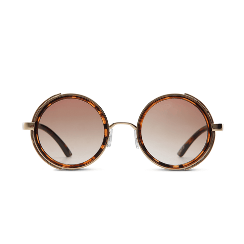 Maximillian Demi Brown Tortoiseshell Sunglasses at LVBT