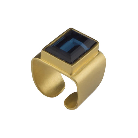 Hagar Satat Caesar Gold Ring at LVBT