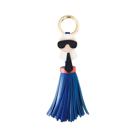 Blue Karl Tassel Tag