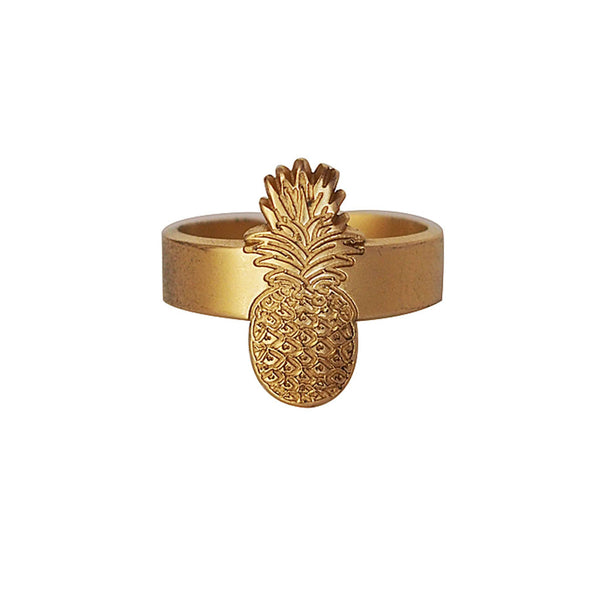 Leone Gold Pineapple Ring at LVBT