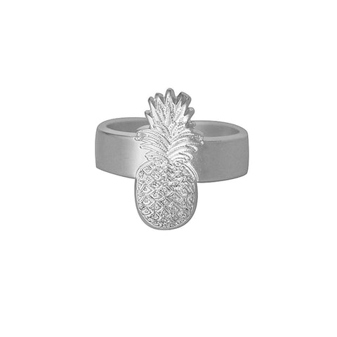 Leone Silver Pineapple Ring at LVBT