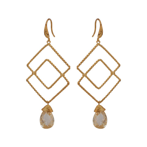 Robyn Gold Earrings