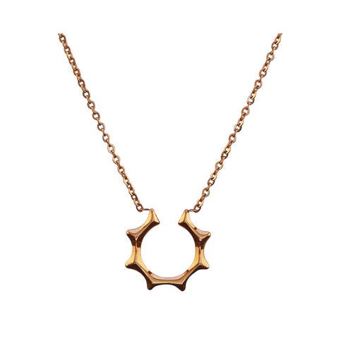 Sofia Rose Gold Necklace