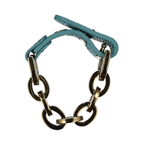 Sally Turquoise Leather Bracelet