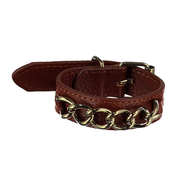 Kristin Brown Leather Bracelet