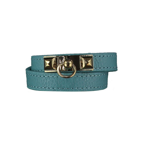 Kate Turquoise Leather Bracelet