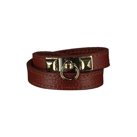 Kate Brown Leather Bracelet