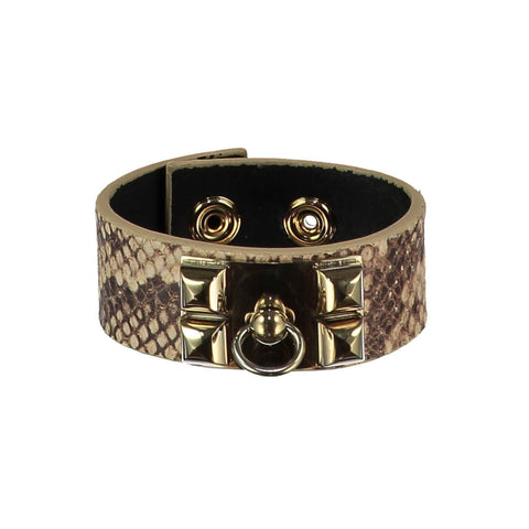 Nicola Tan Leather Cuff