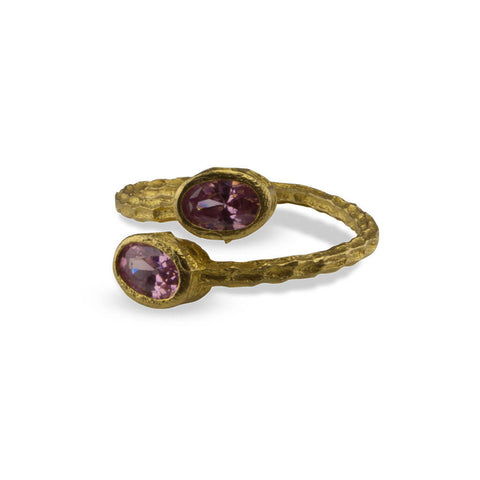 Monte Jewellery Semi Precious Rose Quarts Ring at LVBT