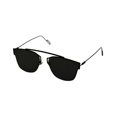 Chrome: Black Frame Sunglasses