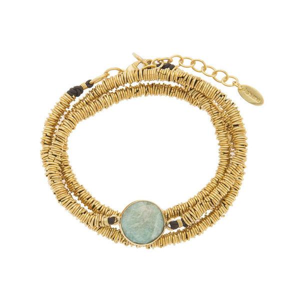 Ashiana Gold Plated Connie Bracelet at LVBT