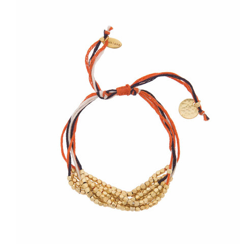 Ashiana Orange Francine Bracelet at LVBT