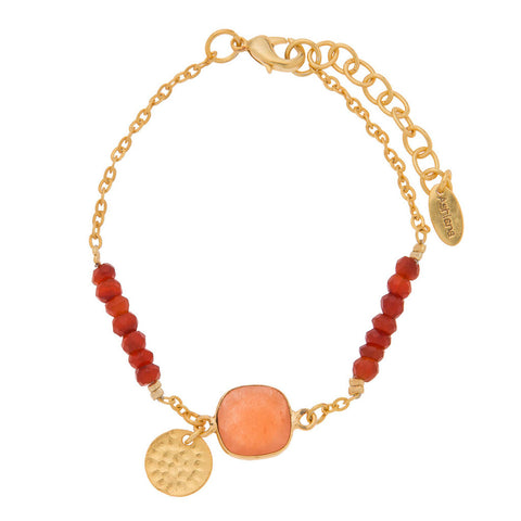Ashiana Orange Katie Bracelet at LVBT