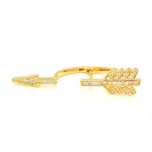 Cupids Arrow Cuff Earring at LVBT
