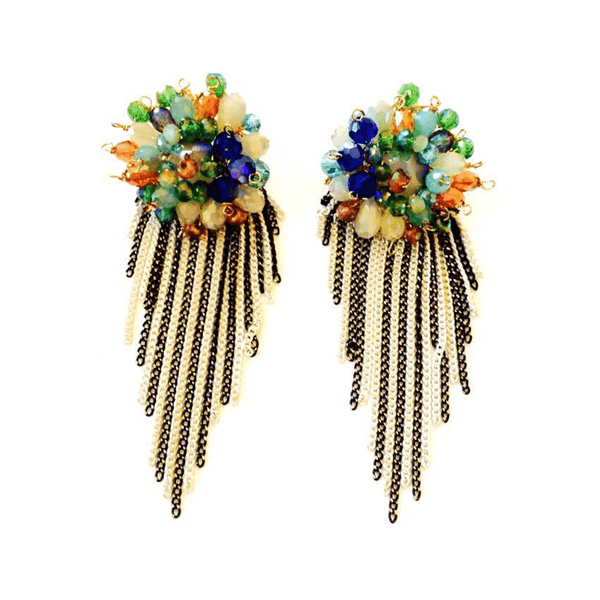 Mia Statement Earrings at LVBT