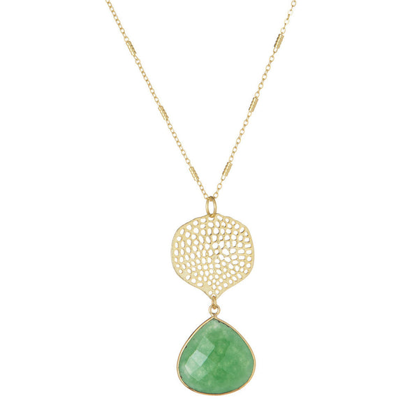 Green Arya Necklace