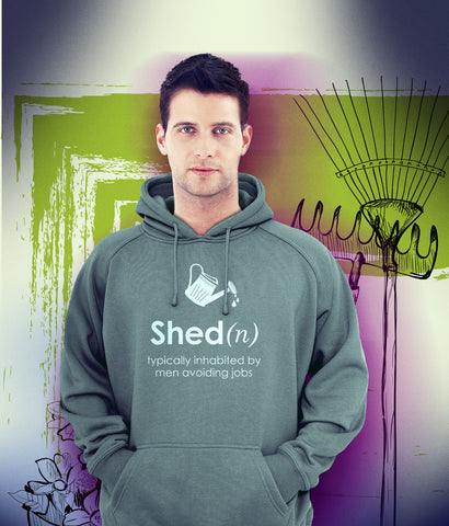 'Shed' Hoody