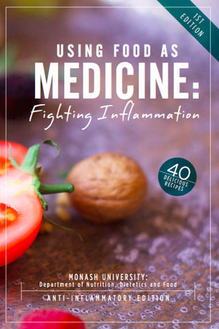 Using Food as Medicine Recipe eBook (PDF) - Anti-Inflammatory Edition