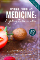 Using Food as Medicine Recipe Book (PDF) - Anti-Inflammatory Edition