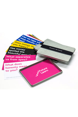 Question the answer - FutureLearn postcard set