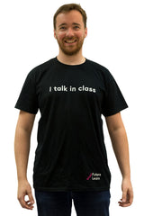 I talk in class - FutureLearn T-shirt
