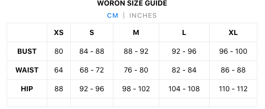 Find the right size with our easy to use Size Guide.