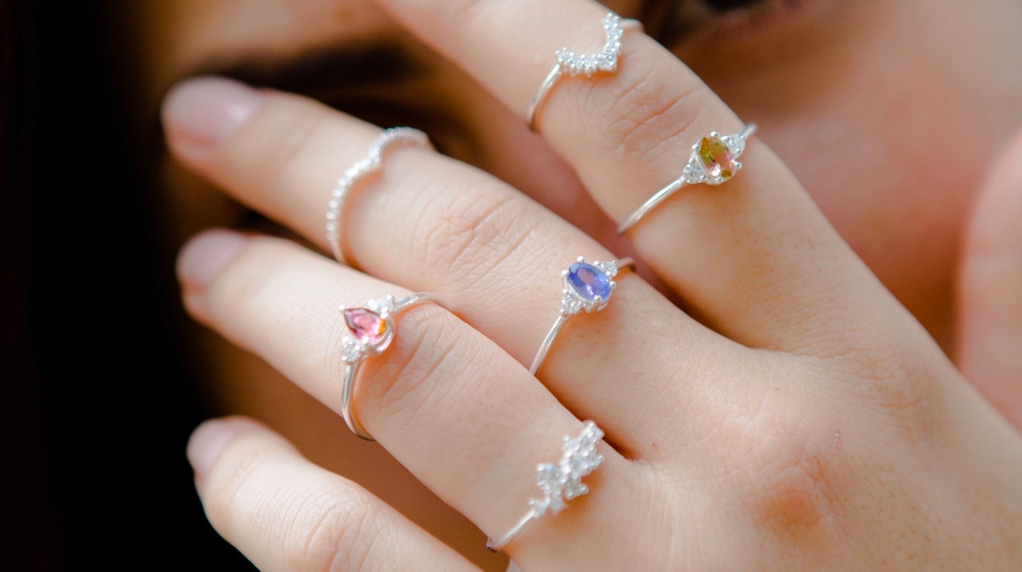 2019 Dainty Rings Collection - Stack 'em up!