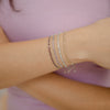 925 Silver Classic Series Bracelet - Freya (Citrine) - Tessellate.Co