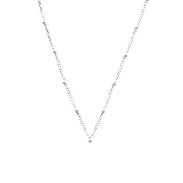 925 Silver Chain Series Necklace - Ball Chain (22, 24 Inches)