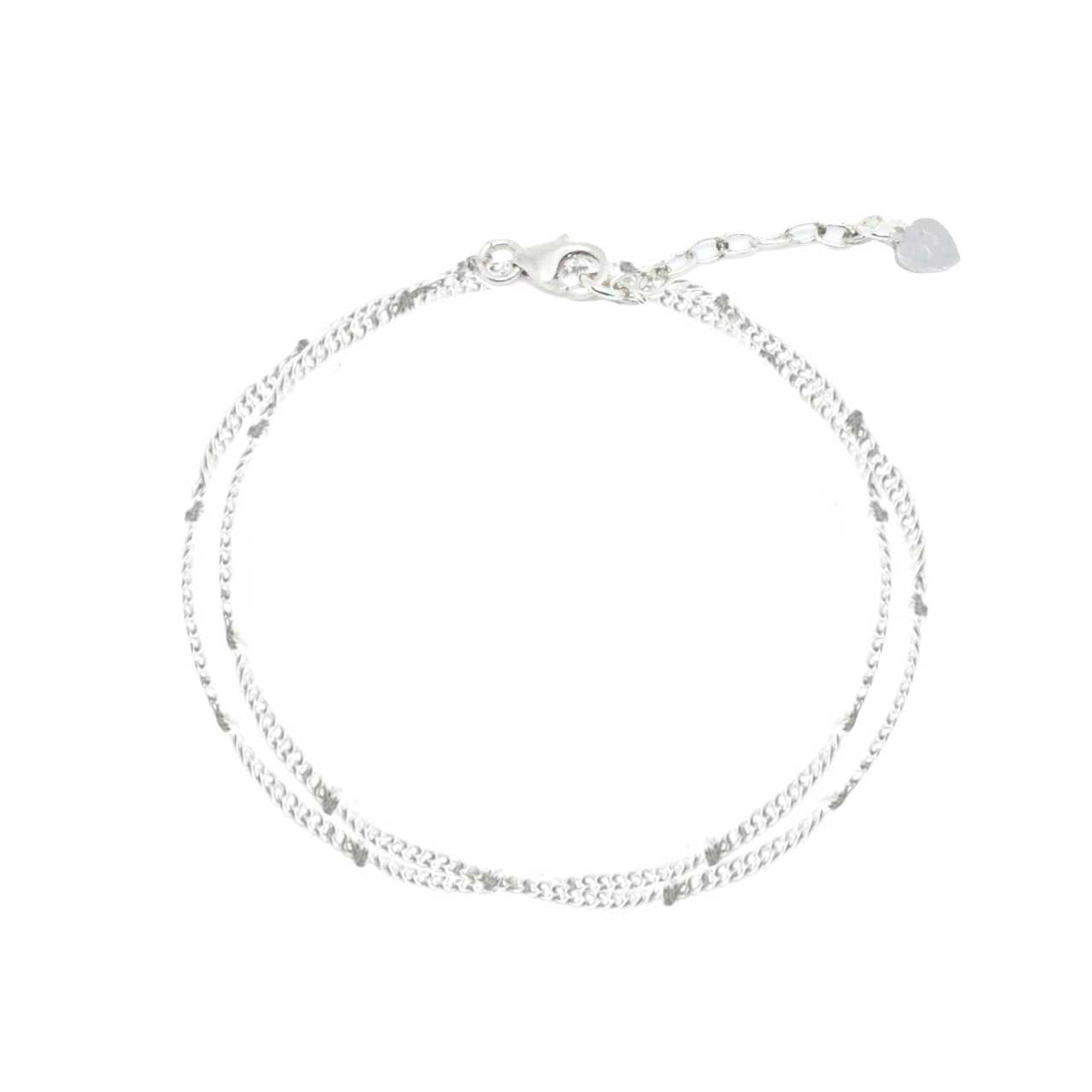 925 Silver Charm Series Bracelet - Double Ball