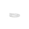 925 Silver Classic Series Ring - Britney (White zirconia) - Tessellate.Co