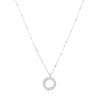 925 Silver Classic Series Necklace - Becca (Zirconia) - Tessellate.Co